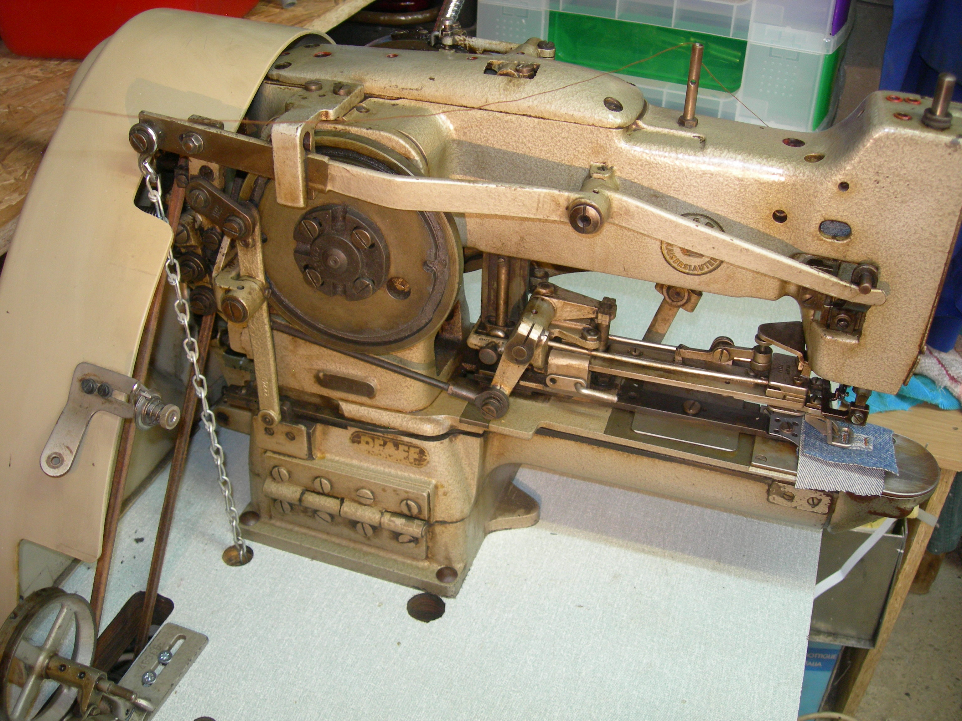 bar tack sewing machine