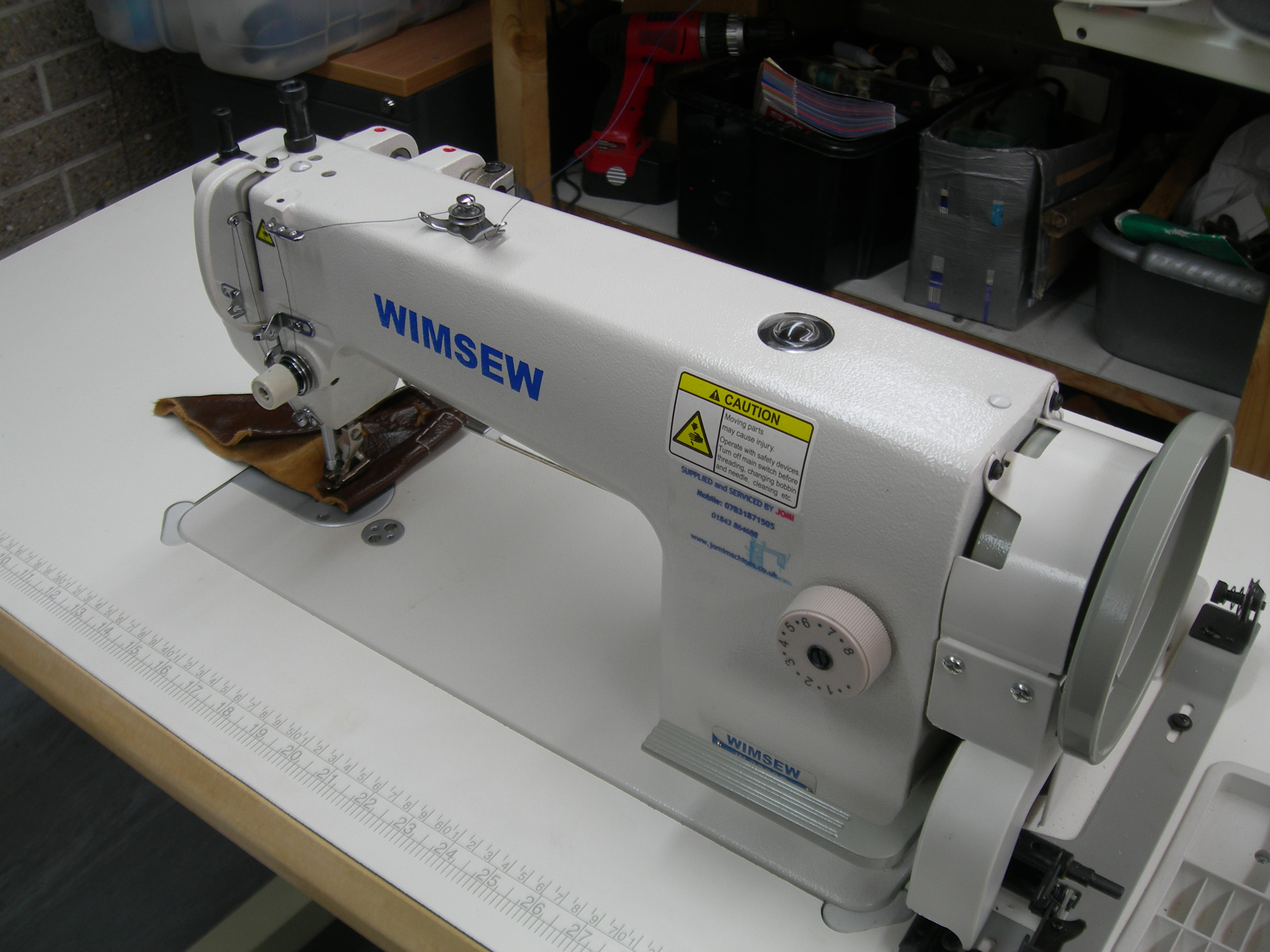 industrial walking foot sewing machine wimsew w3300c ebay. Black Bedroom Furniture Sets. Home Design Ideas