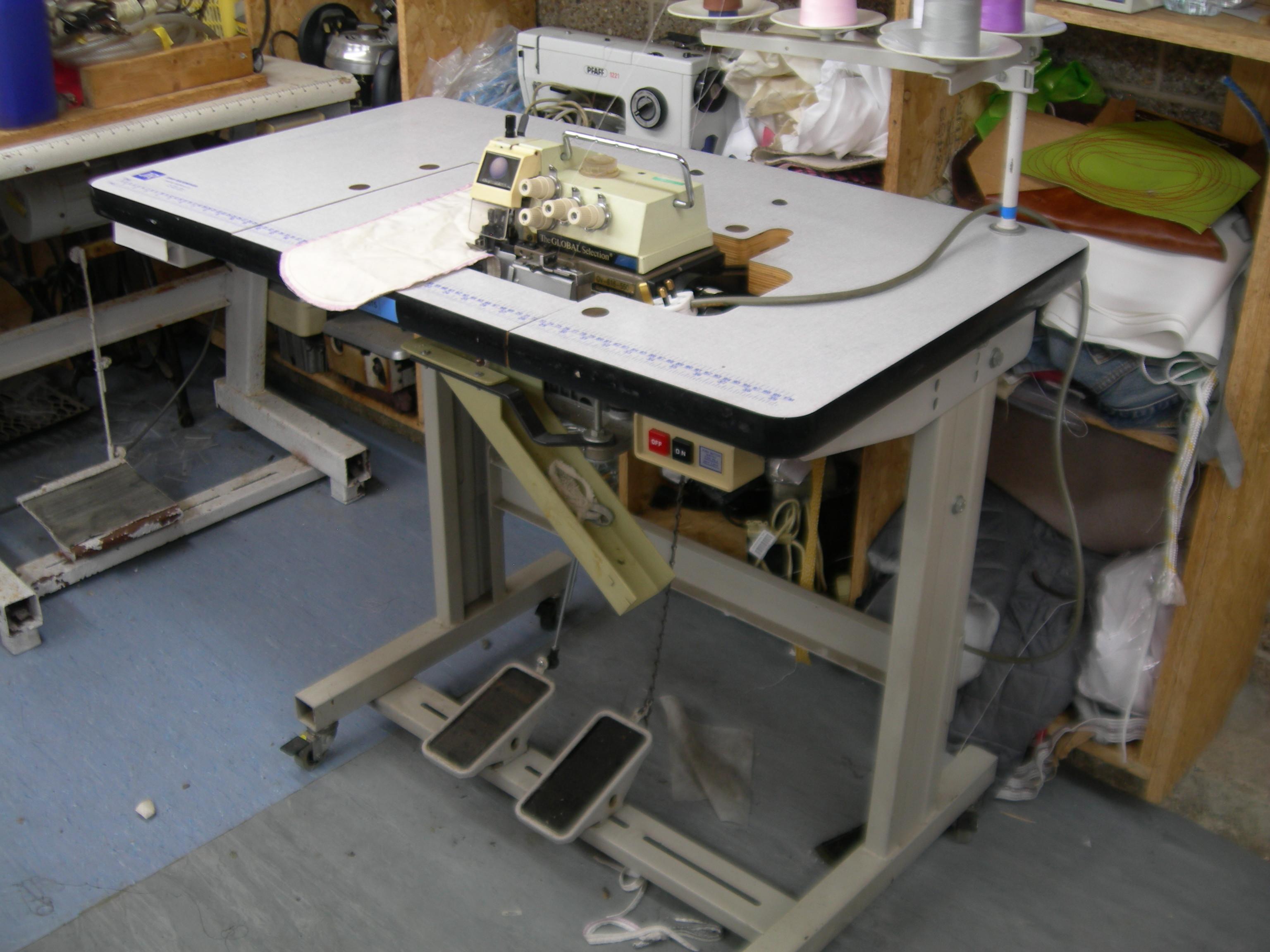 ebay overlocker sewing machine
